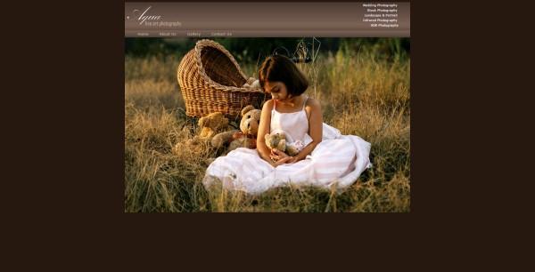 Website Design for Aqua Photography