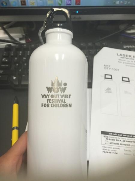 Bottle for Casula Powerhouse Art Centre