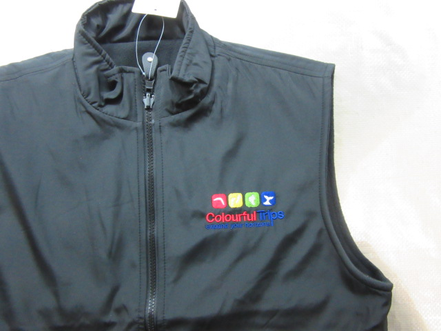 Vest with Colourful Trip Logo