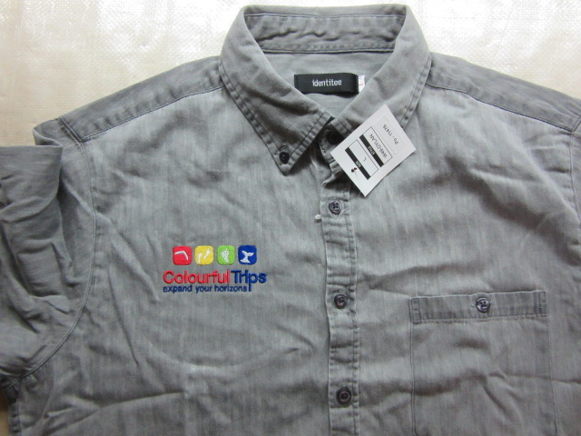 Corporate Shirt with Travel Company Logo