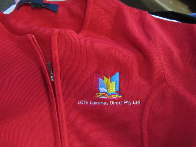 Lote Library Red Sweater