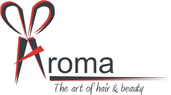 Logo design for Aroma hair and beauty
