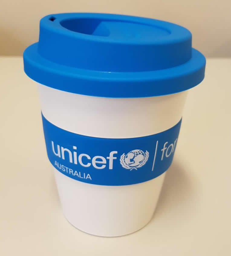 Eco Coffee Mugs for UNICEF