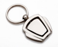 Metal Keyring With Spinner