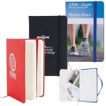 Notebook With Elastic Closure Expandable Pocket