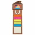 House Bookmark Ruler With Noteflags