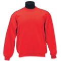 Kids Fleecy Crew Neck Sweat Shirt With Knitted Basque