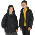 Kids Jacket In A Bag With Concealed Hood In Collar
