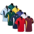 Kids Inserted Front Panels With Raglan Sleeve Polo