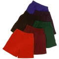 Kids Rugby Knit Shorts With Zip In Right Pocket