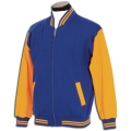 Kids Baseball Jacket With Zip Front