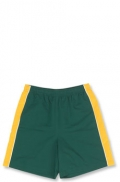 Kids Microfibre Shorts With Contrast Side Panels