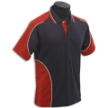 Kids Micro Mesh Polo With  Body & Shoulder Panels