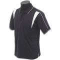 Kids Micro Mesh Polo With Inserted Chest Panels