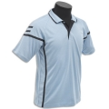 Kids Micro Mesh Polo With Contrast Cover Stripes