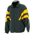 Kids Microfibre Sport Jacket With Coloured Panels