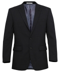 Stretch Wool Blend Plain Weave Suit Separate Jacket Size 136 to 152