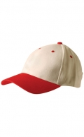 Two Tone Heavy Brushed Cotton Cap